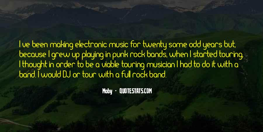 Quotes About Punk Rock Music #1770734