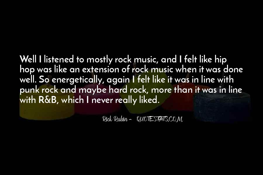 Quotes About Punk Rock Music #1800235