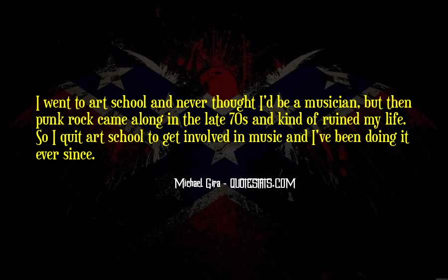 Quotes About Punk Rock Music #1803164
