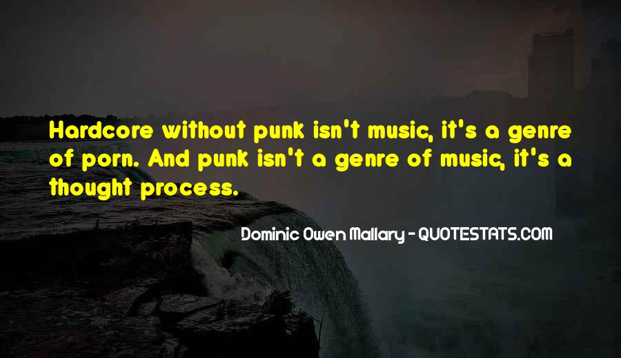 Quotes About Punk Rock Music #206832