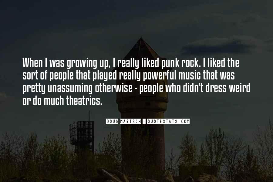 Quotes About Punk Rock Music #311971