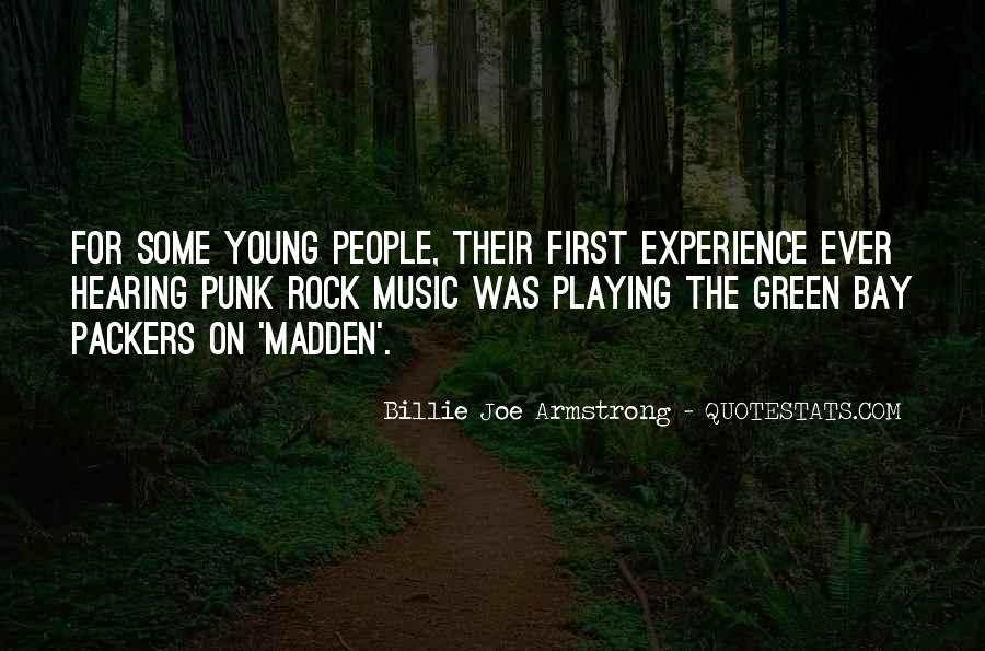 Quotes About Punk Rock Music #398233