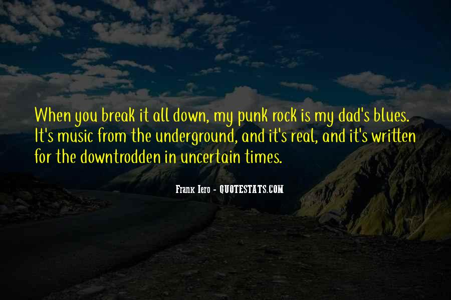 Quotes About Punk Rock Music #413672