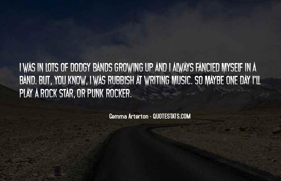 Quotes About Punk Rock Music #541081