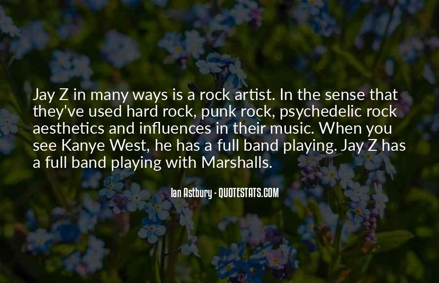 Quotes About Punk Rock Music #756039