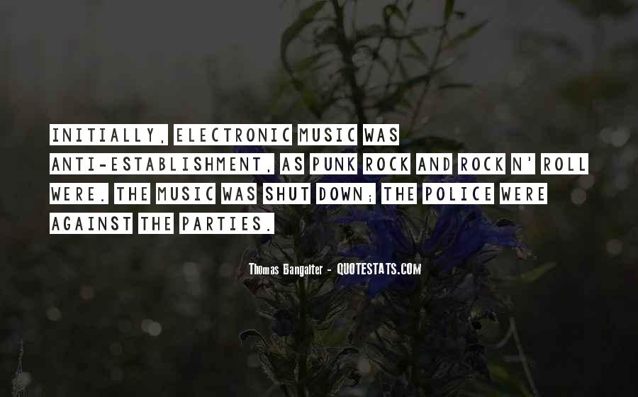 Quotes About Punk Rock Music #831039