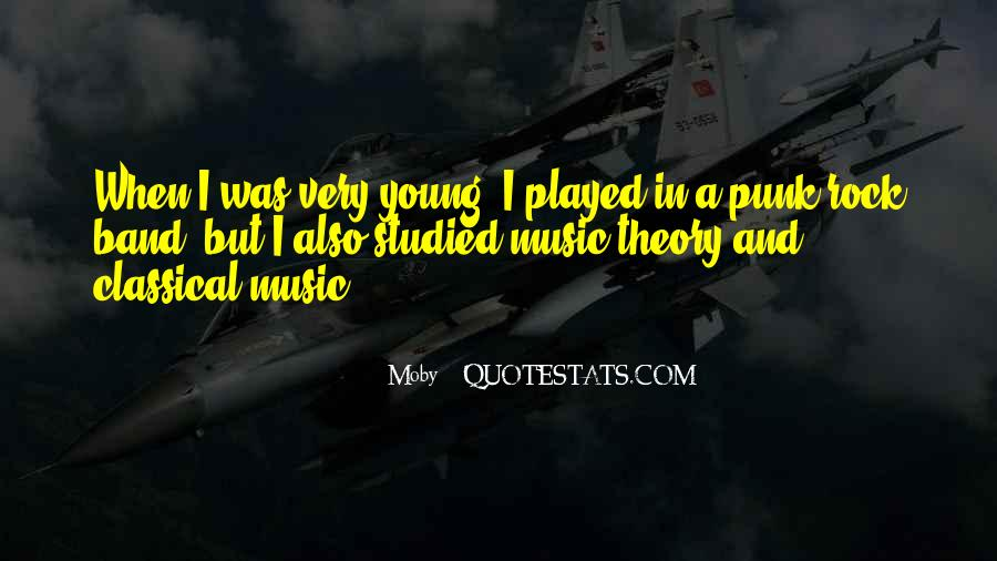 Quotes About Punk Rock Music #946628