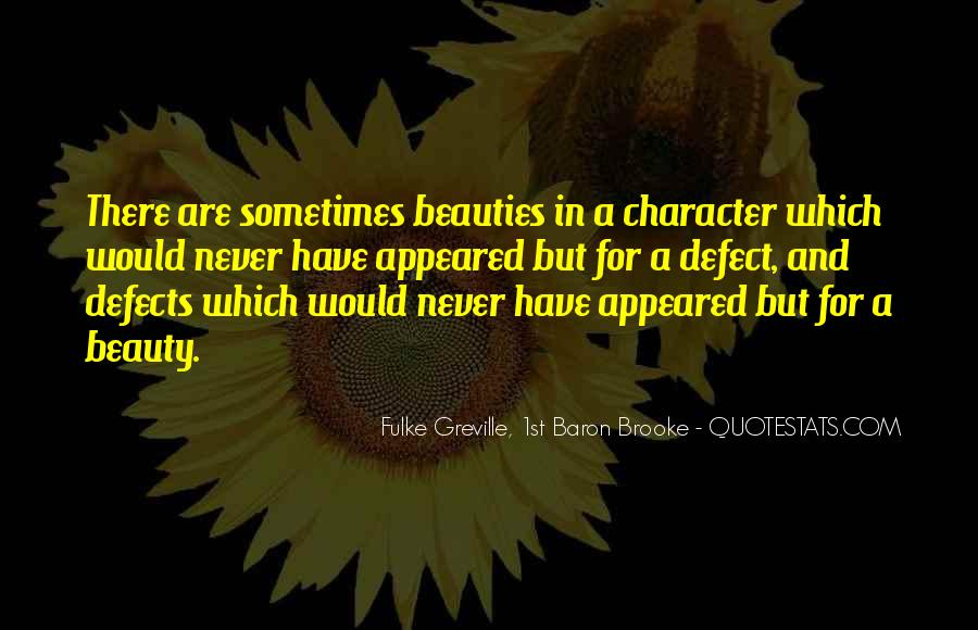 Quotes About Character Over Beauty #163705