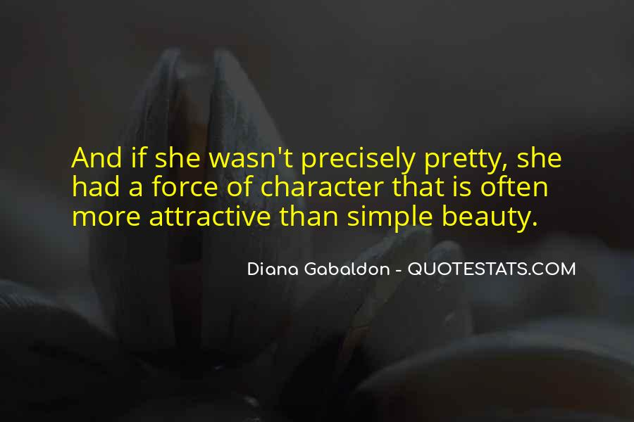 Quotes About Character Over Beauty #243241