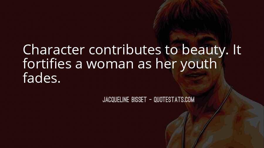 Quotes About Character Over Beauty #372338
