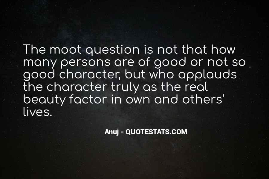 Quotes About Character Over Beauty #405288