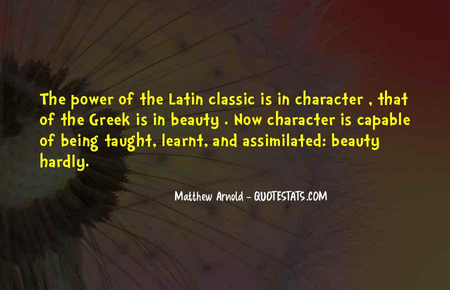 Quotes About Character Over Beauty #60033
