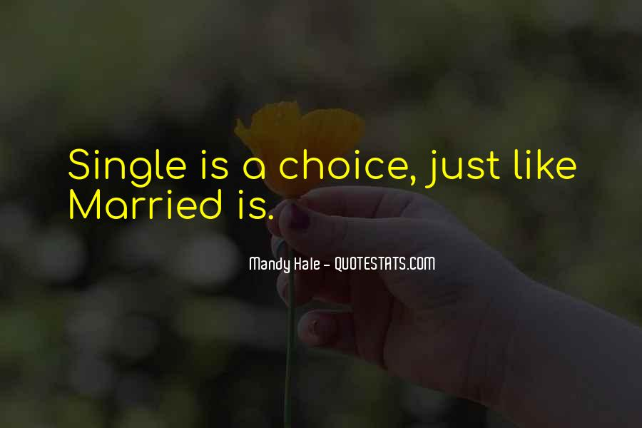 Quotes About Just Being Single #1109503