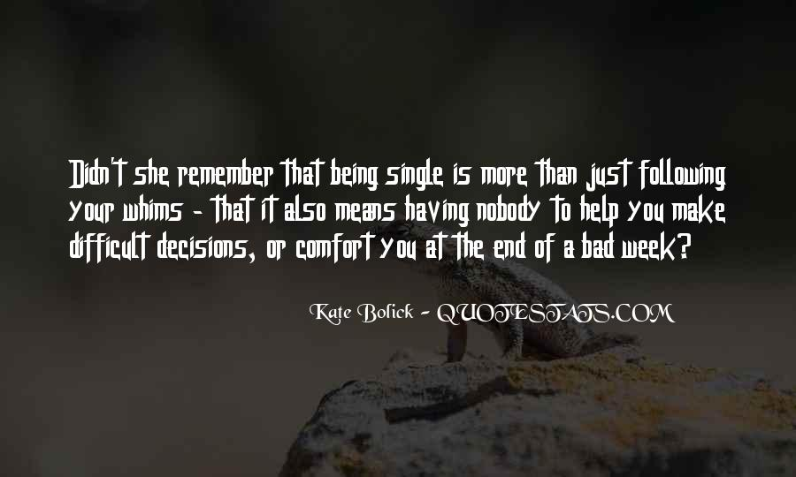 Quotes About Just Being Single #1806836