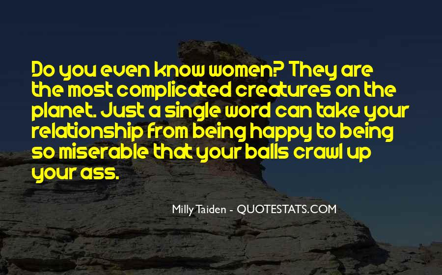 Quotes About Just Being Single #731697