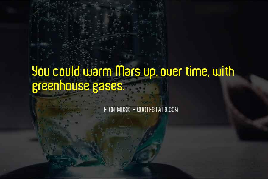 Quotes About Greenhouse Gases #1016233