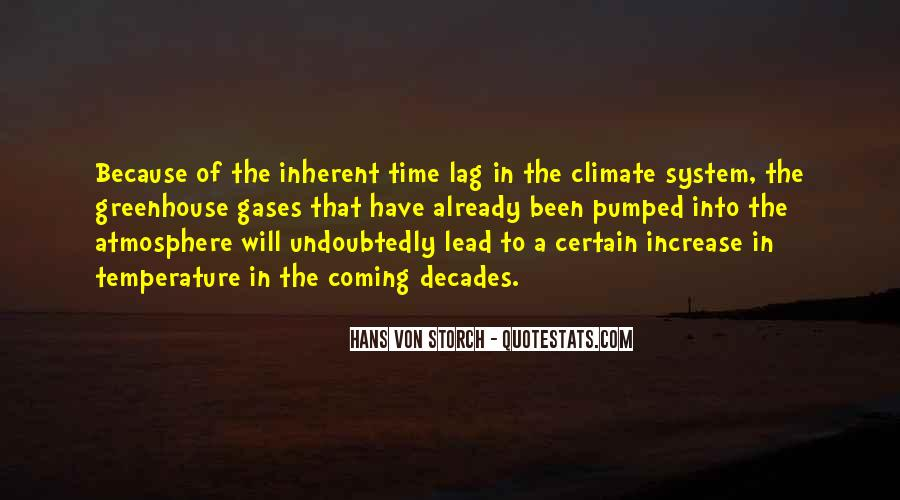 Quotes About Greenhouse Gases #1059073