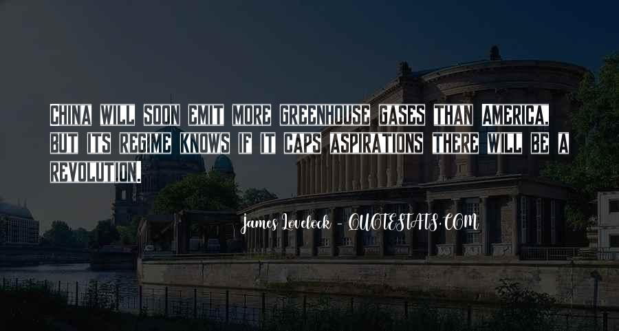 Quotes About Greenhouse Gases #1161750