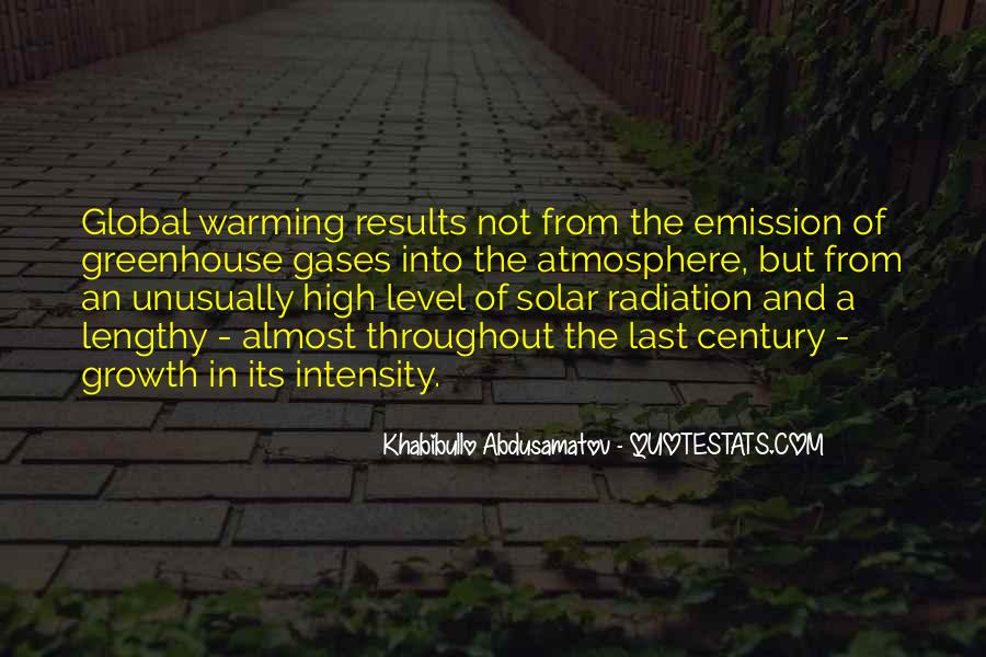 Quotes About Greenhouse Gases #1201887