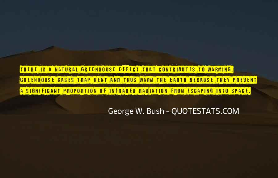Quotes About Greenhouse Gases #1282333