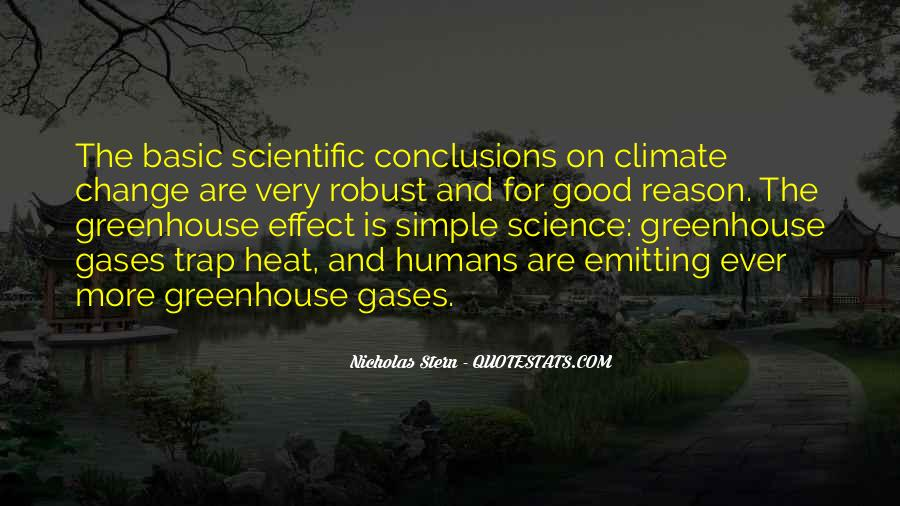 Quotes About Greenhouse Gases #1284717