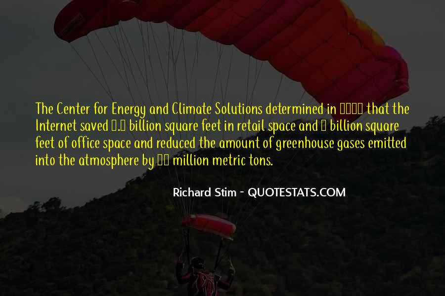 Quotes About Greenhouse Gases #1491399