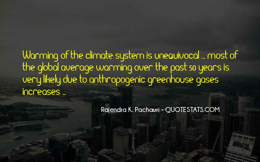 Quotes About Greenhouse Gases #1544879