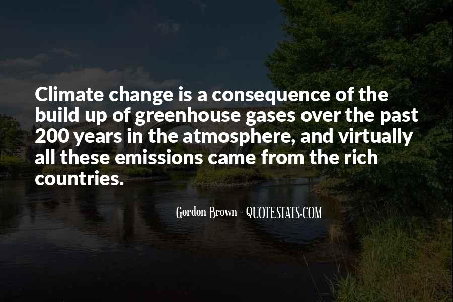 Quotes About Greenhouse Gases #1553978