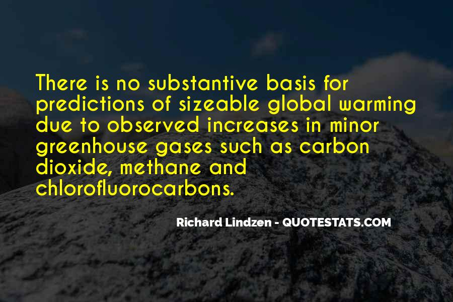 Quotes About Greenhouse Gases #1627029