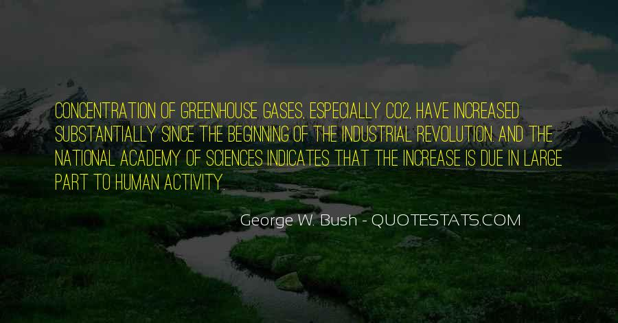 Quotes About Greenhouse Gases #191727