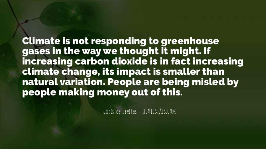 Quotes About Greenhouse Gases #202796