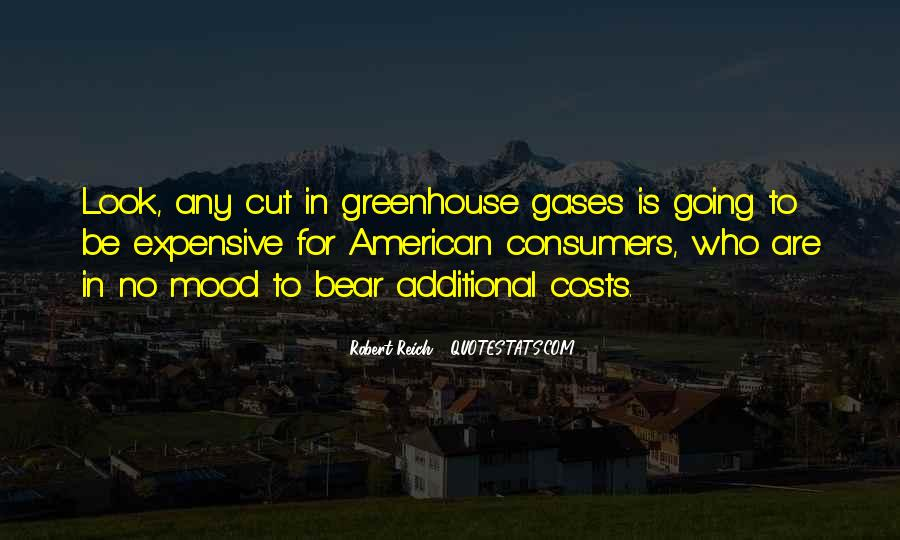 Quotes About Greenhouse Gases #428259