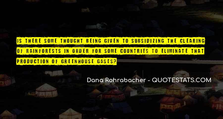 Quotes About Greenhouse Gases #468897