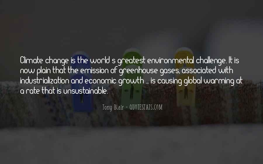 Quotes About Greenhouse Gases #501318