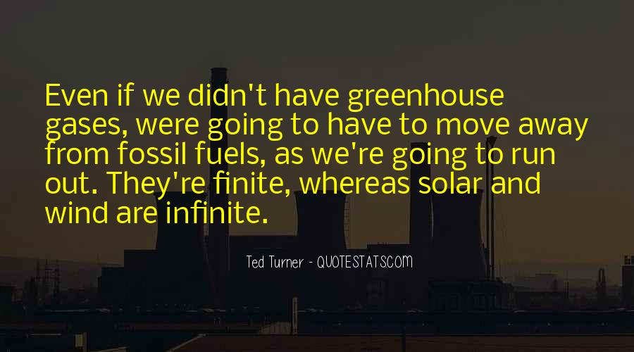 Quotes About Greenhouse Gases #544133