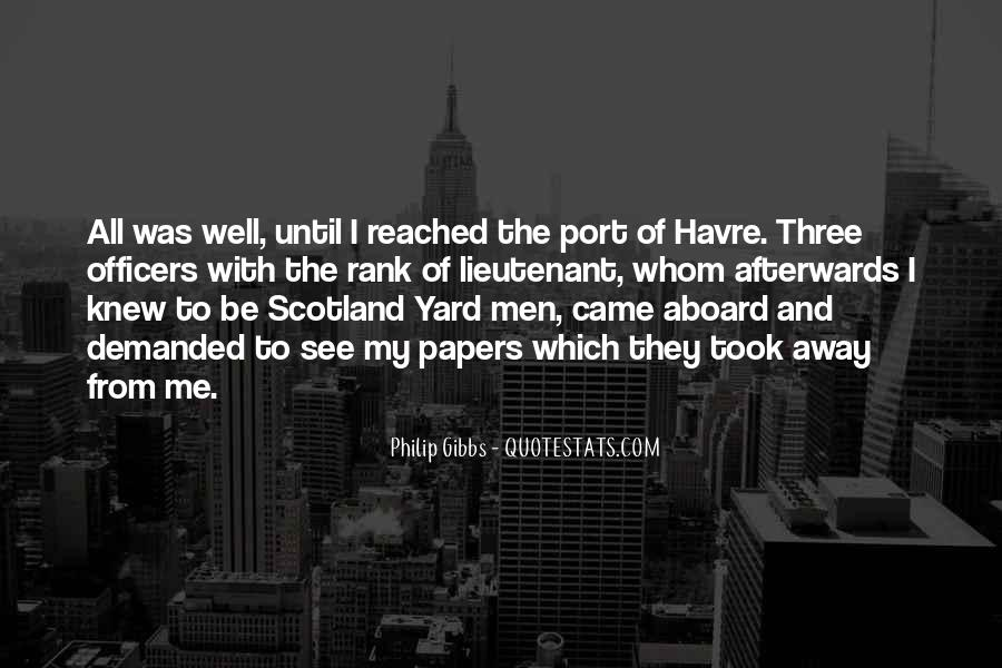 Quotes About Scotland Yard #468467