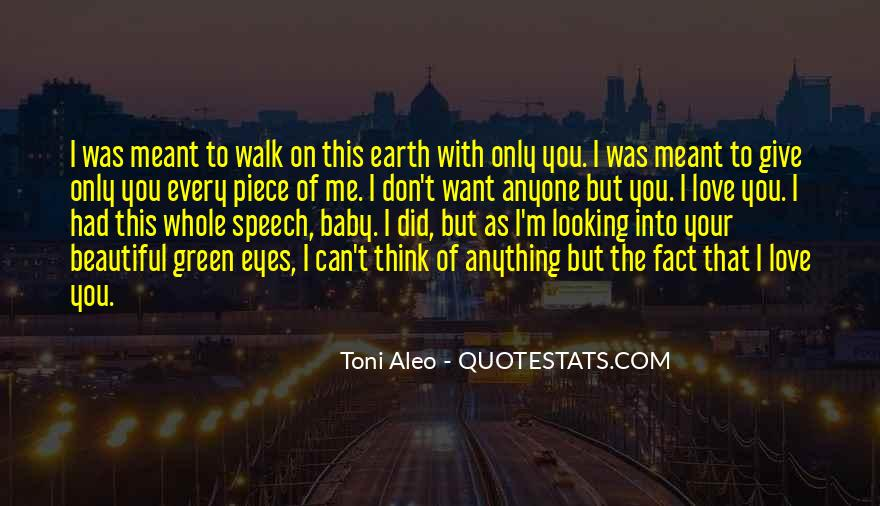 Quotes About Green Eyes Beautiful #1535796