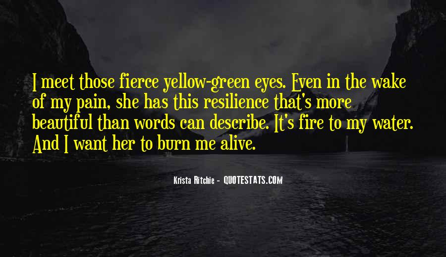 Quotes About Green Eyes Beautiful #577992