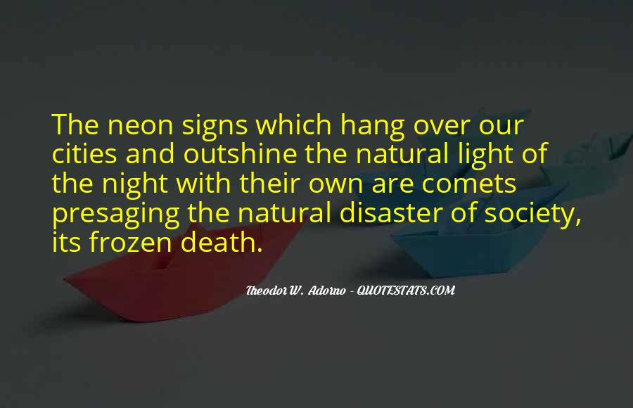Quotes About Neon Light #1221875