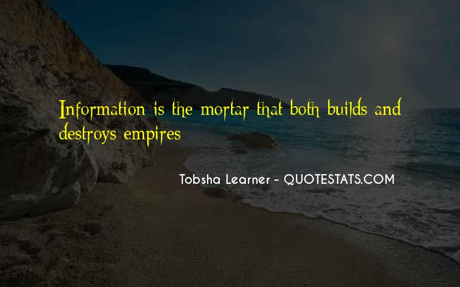 Quotes About Tobsha #1005125
