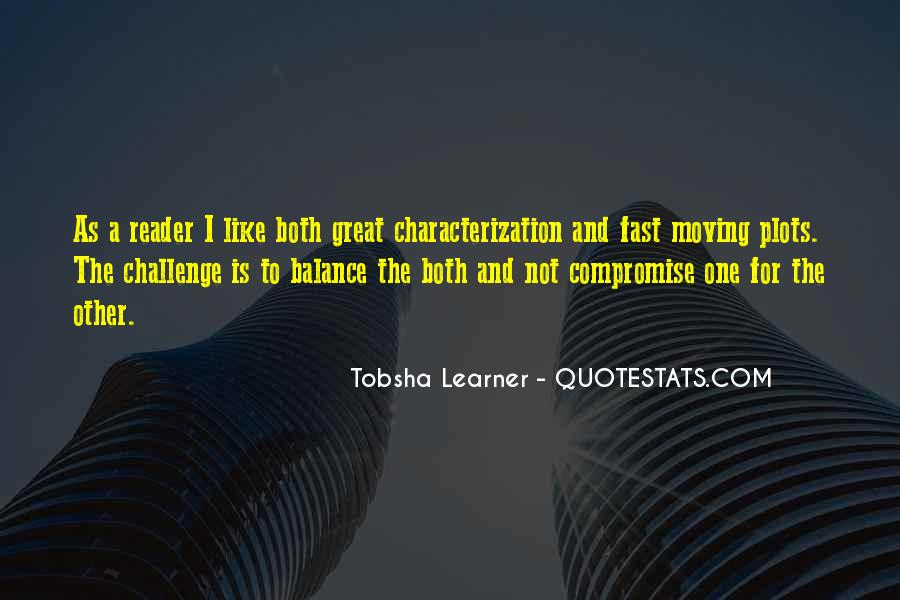 Quotes About Tobsha #221969