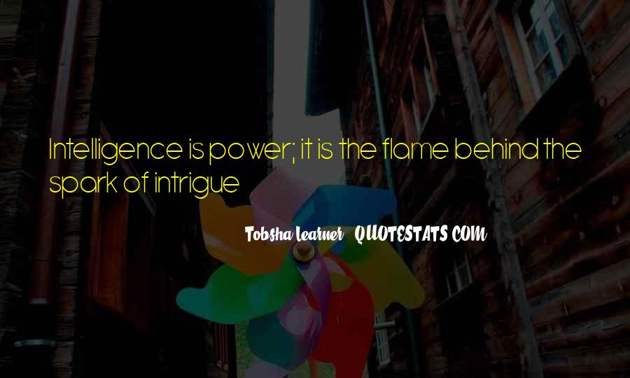 Quotes About Tobsha #827985