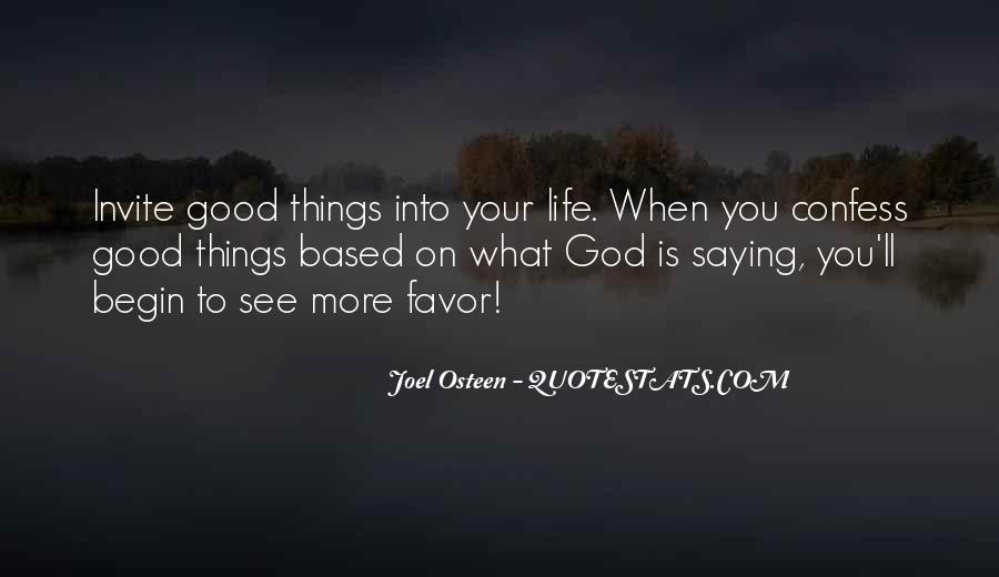 Quotes About God Favors Me #776967