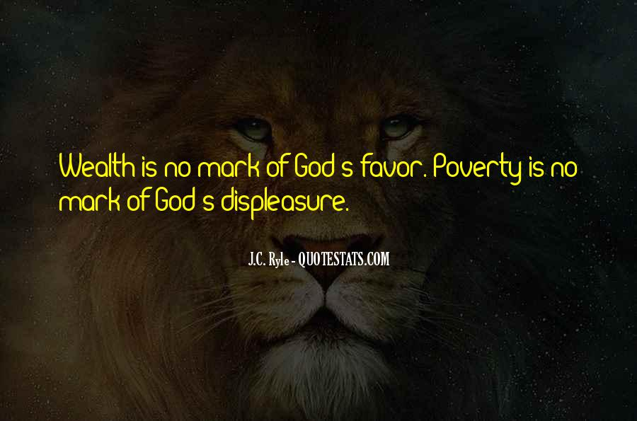 Quotes About God Favors Me #804970