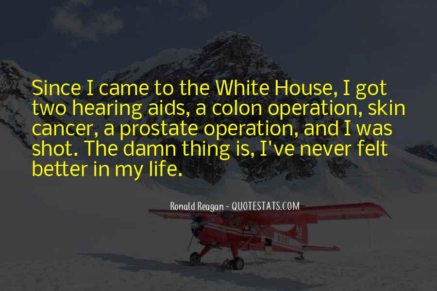 Quotes About The White House #206583