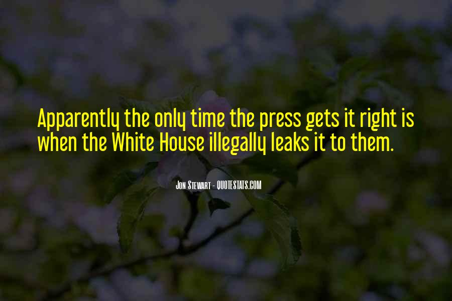 Quotes About The White House #213167