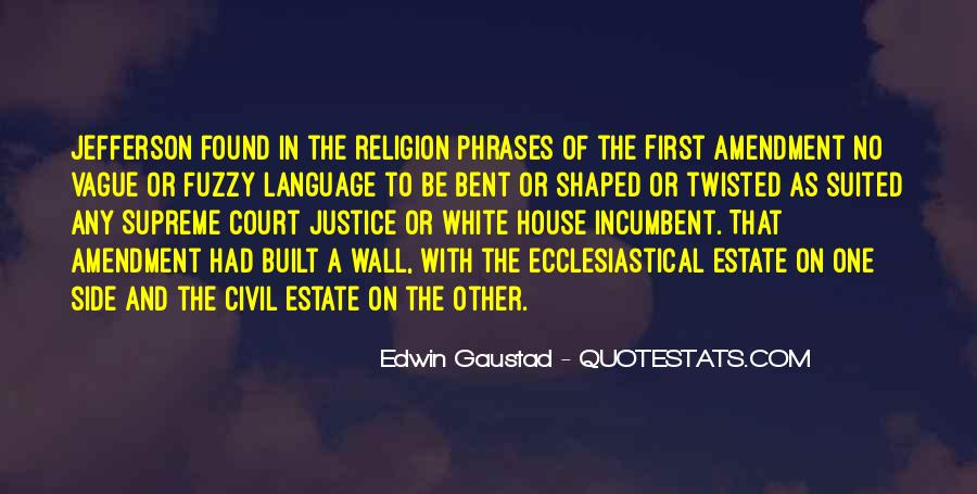 Quotes About The White House #3051