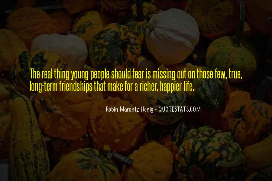 Quotes About Long Friendships #1780017