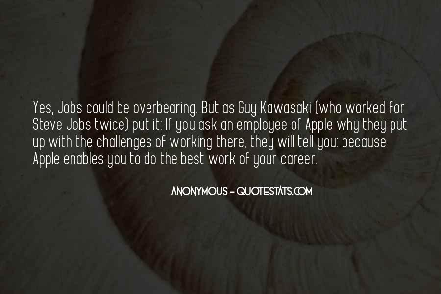 Quotes About Work Steve Jobs #1188038