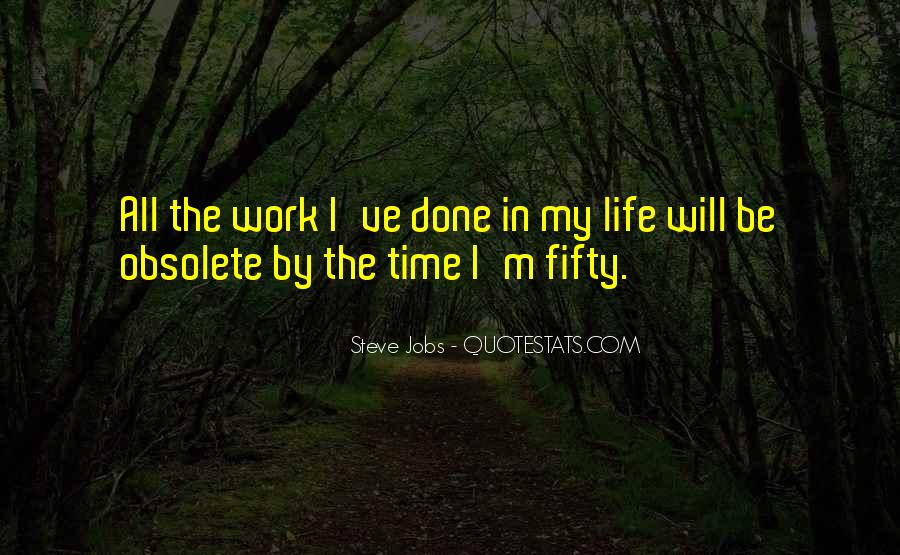 Quotes About Work Steve Jobs #1592163